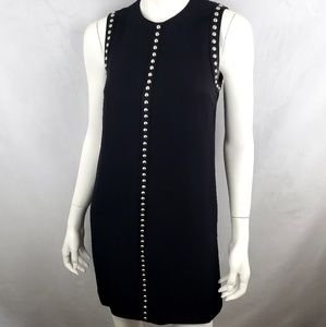 MCQ Alexander Mcqueen Studded Black Dress